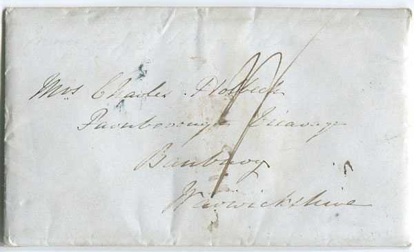 1848 cover with enclosure from Bermuda to England