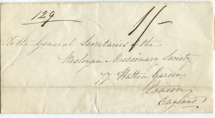 1840 (24 Jan) cover from Grenada to London