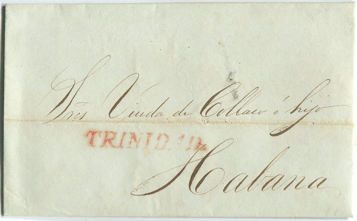 1839 (3 Dec) EL from Trinidad to Havana