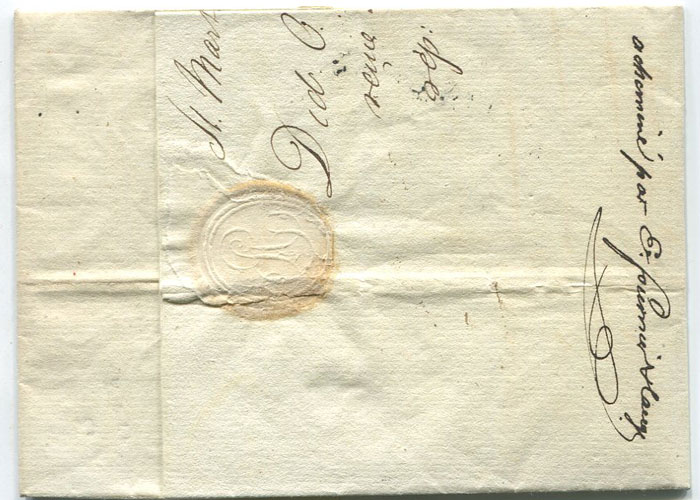 1823 (21 Jun) EL with good ST MARTIN DE RE 16