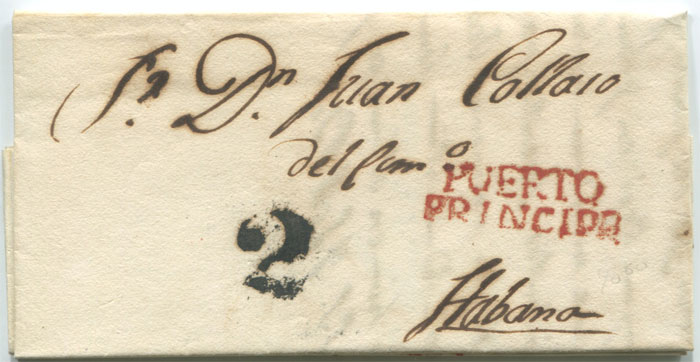 1834 EL from Puerto Principe to Havana