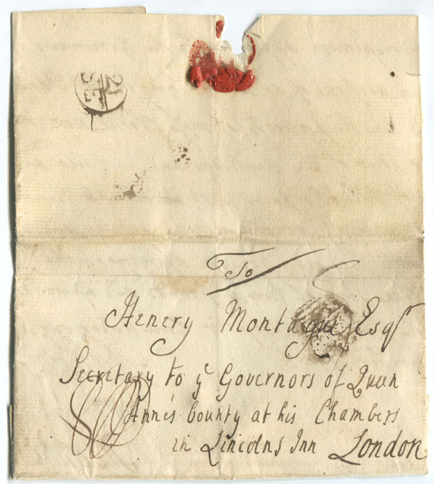 1756 (19 Sep) EL from Wareham to London with scarce inspector