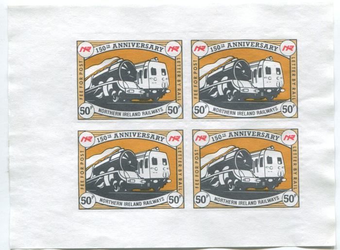 1989 150th Anniversary Northern Ireland Railways
