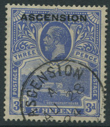 1922 Ascension 3d (SG5), v.f.u.