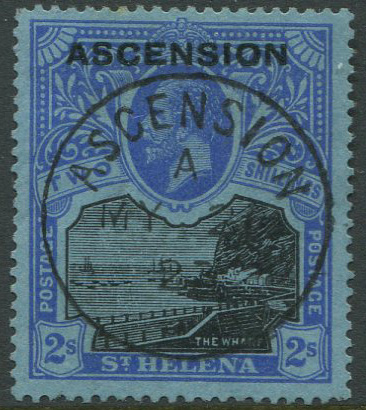1922 Ascension 2/- (SG7),