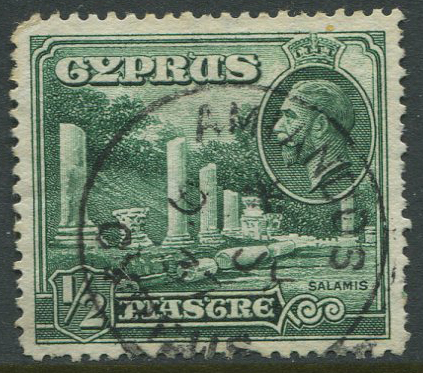 1934 Cyprus AMIANOS village cds postmarks