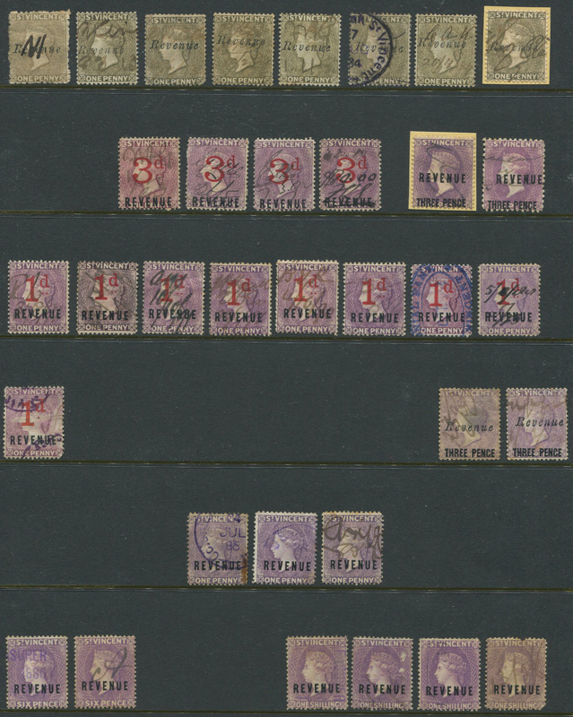 1882-94 St Vincent Revenues.