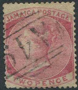 1860-70 Jamaica Pines 2d (SG2a) with