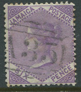 1870-83 Jamaica 6d (SG12) with