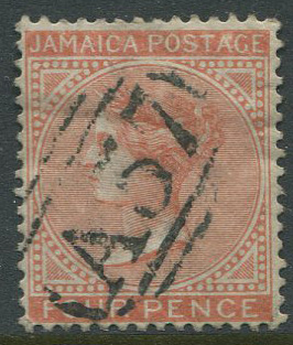 1883-97 Jamaica 4d (SG22) with