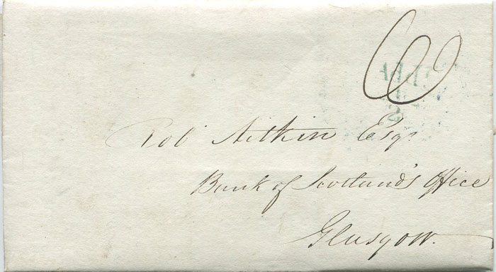 1832 (28 Mar) BERWICK Add ½ in green