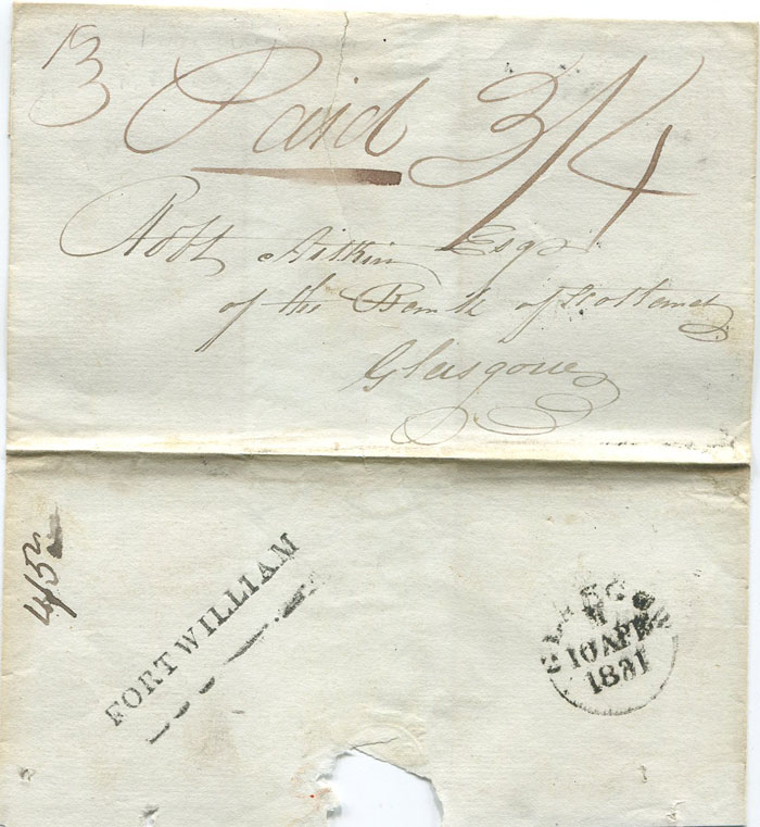 1831 (Apr) FORT WILLIAM s/l h/s