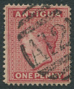 1890 Antigua 1d (SG26) with