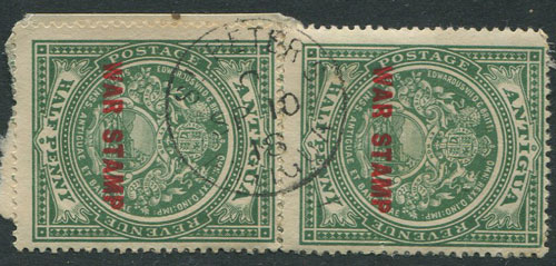 1918 ST PETERS ANTIGUA C SP 10 18 cds village postmark