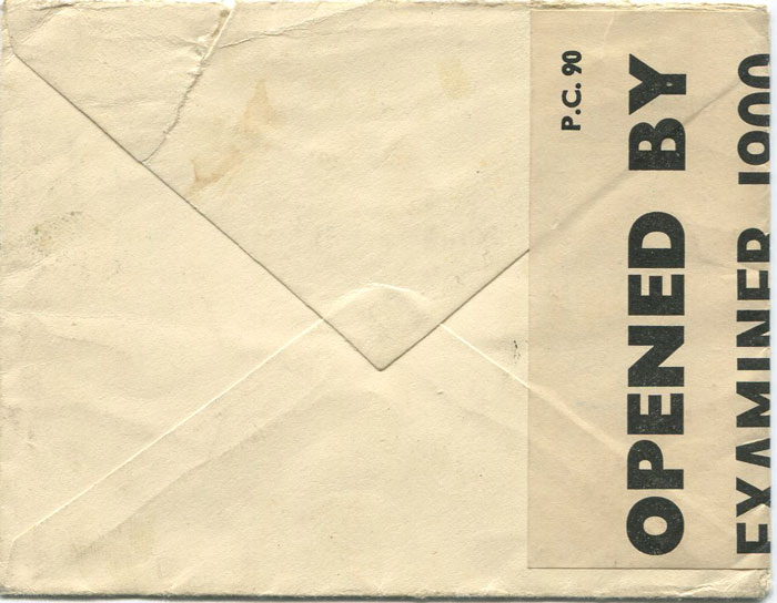 1941 (10 Jun) Curacao censored cover to cover