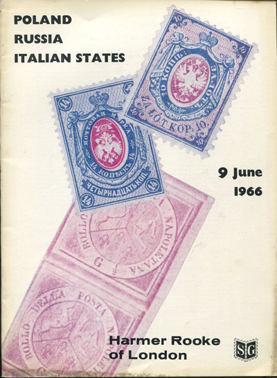 1966 (9 Jun) Italian States, Poland, its forerunners and Russia.