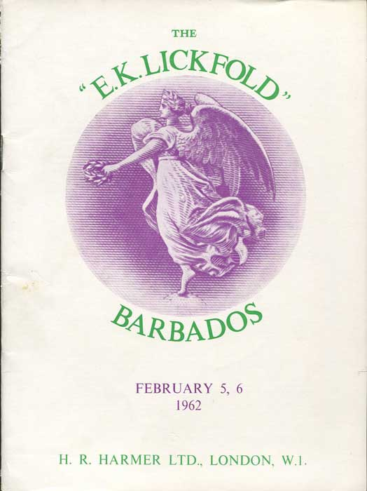 1962 (5-6 Feb) E.K. Lickfold Barbados.