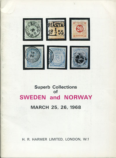 1968 (25-26 Mar) Superb collections of Sweden and Norway.