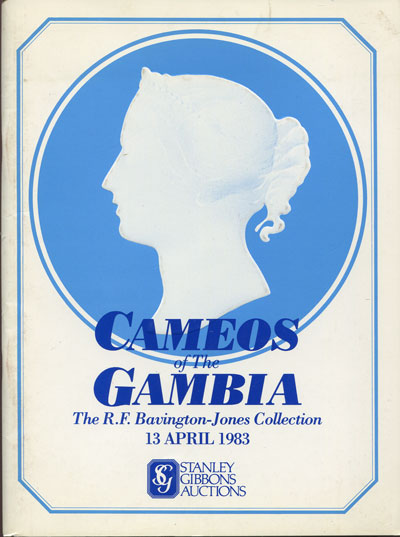 1983 (13 Apr) Cameos of Gambia. - The R.F. Bavington-Jones collection.