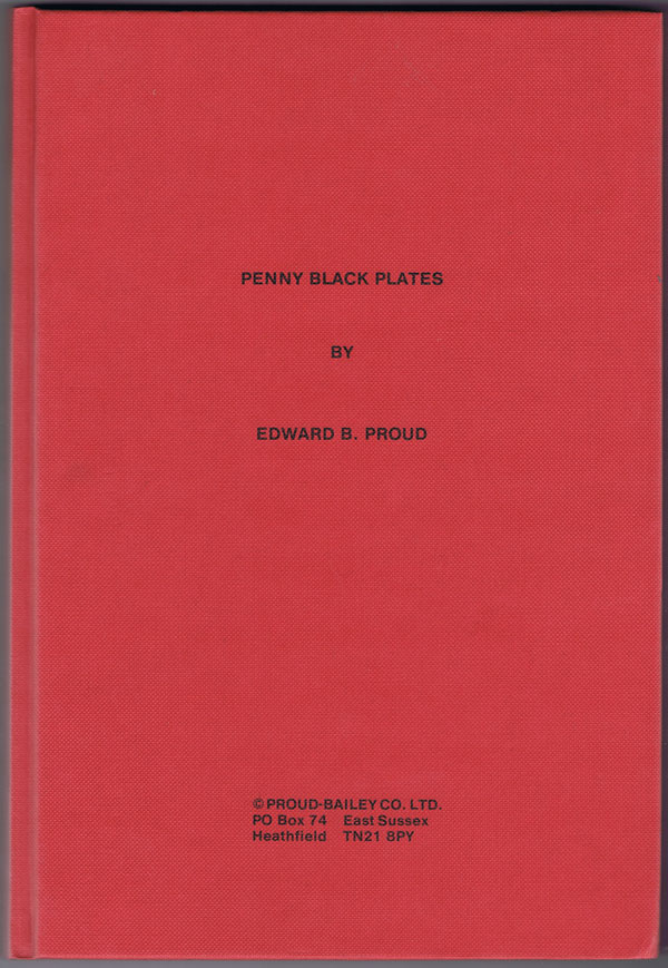 PROUD Edward B. Penny Black Plates.