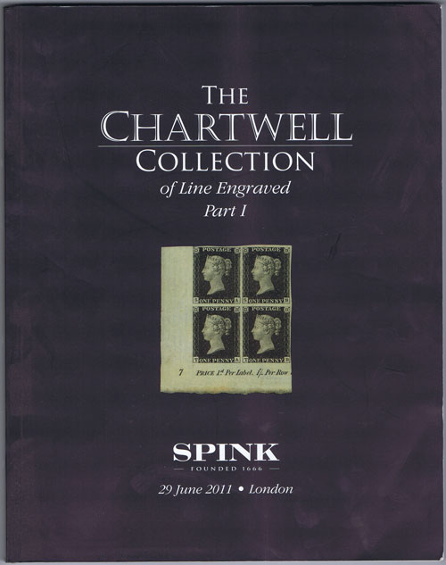2011 (29 Jun) Chartwell collection of Line Engraved. - Part 1