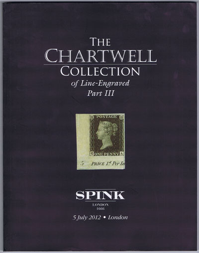 2012 (5 July) Chartwell collection of Line Engraved. - Part III