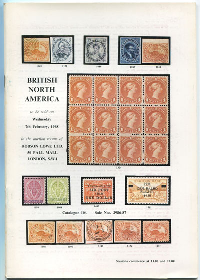 1968 (7 Feb) British North America.