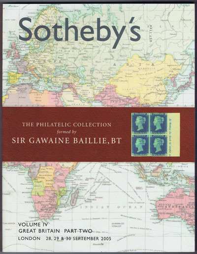 2005 (28-39 Sep) Sir Gawaine Baillie Great Britain Part 2. - Vol. IV
