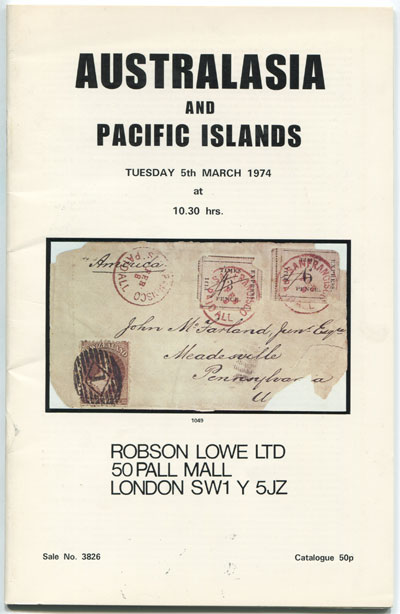 1974 (5 Mar) Australasia and Pacific Islands.