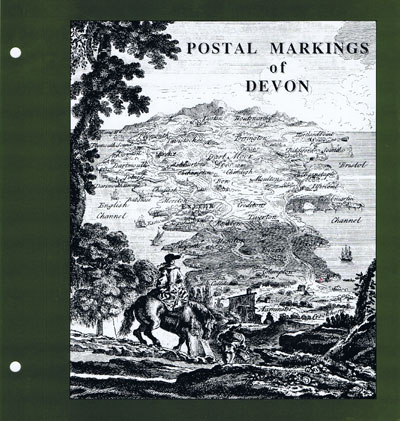 HAKE Ron Postal Markings of Devon.