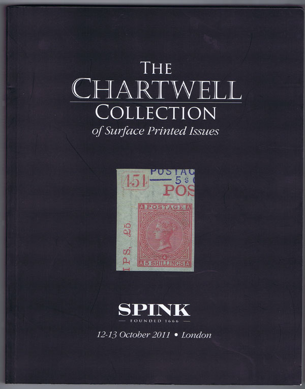 2011 (12-13 Oct) Chartwell collection of Surface Printed Issues.