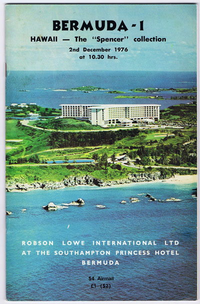 1976 (2 Dec) Hawaii - the Spencer collection.