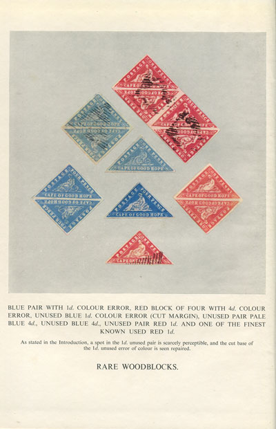 STEVENSON D.Alan The Triangular Stamps of Cape of Good Hope.