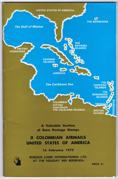 1979 (16 Feb) Colombian Airmails & U.S.A.