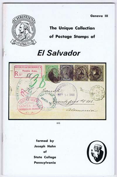 1979 (27 Apr) El Salvador formed by Joseph Hahn
