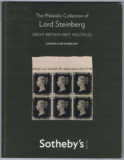 2011 (21 Sep) Lord Steinberg Great Britain Multiples.