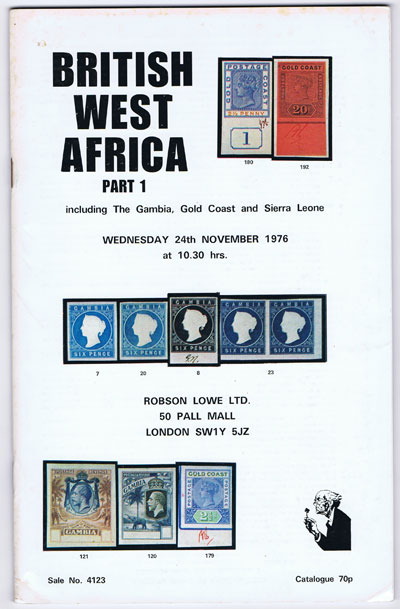 1976 (24 Nov) British West Africa including The Gambia, Gold Coast and Sierre Leone.