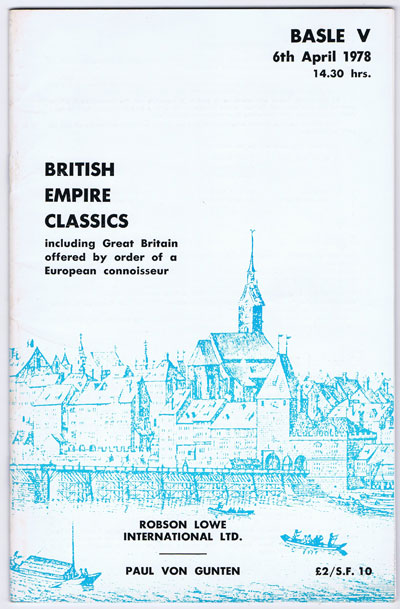 1978 (6 Apr) British Empire Classics.
