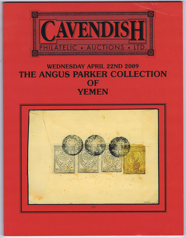 2009 (22 Apr) Angus Parker collection of Yemen.
