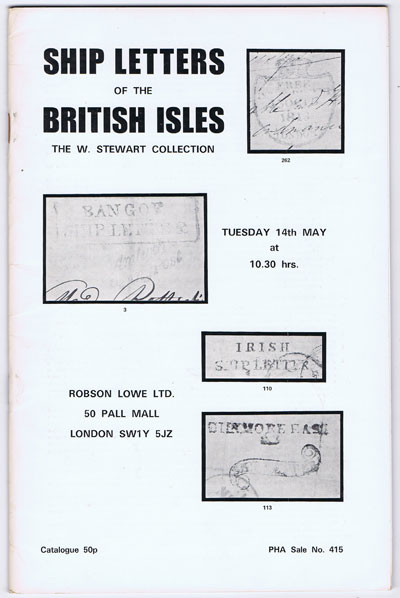 1974 (14 May) Ship Letters of the British Isles.  The W. Stewart Collection.