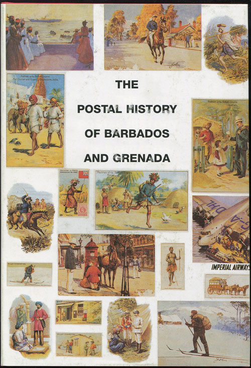 PROUD Edward B. Postal history of Barbados and Grenada. - (Postal History of British Colonies)