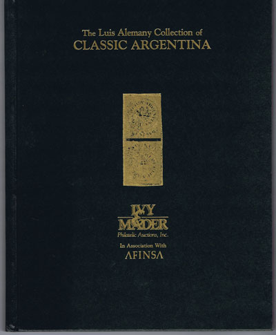 1998 (30 Jun) The Luis Alemany Collection of Classic Argentina.