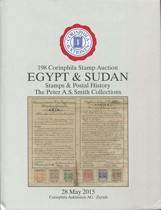2015 (28 May) Egypt & Sudan. Stamps and postal history. The Peter A.S. Smith collections.