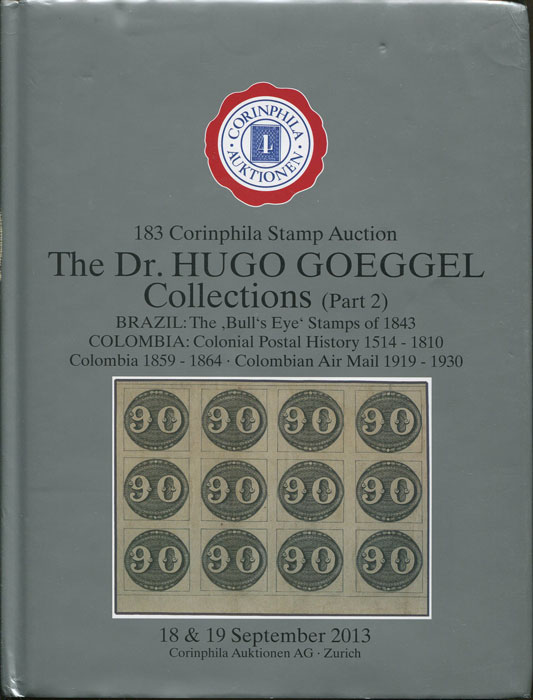 2013 (18-19 Sep) The Dr Hugo Goeggel collections (Part 2). Brazil: The Bull