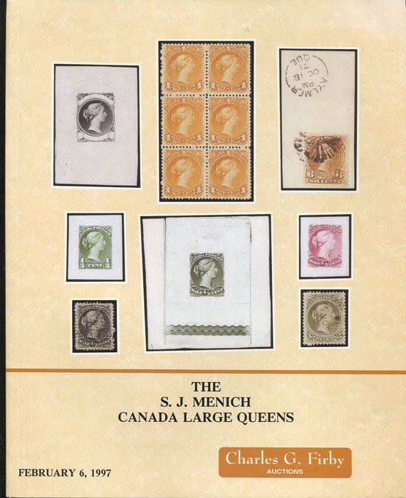 1997 (6 Feb) S.J. Menich Canada Large Queens.