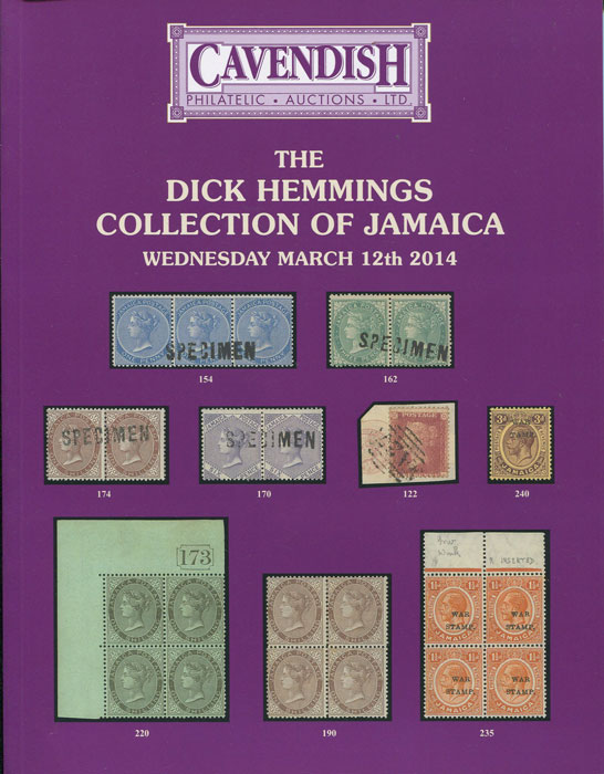 2014 (12 Mar) Dick Hemmings collection of Jamaica.