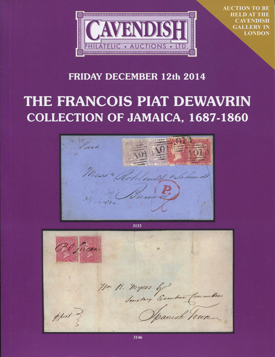 2014 (12 Dec) Francois Piat collection of Jamaica, 1687-1860.