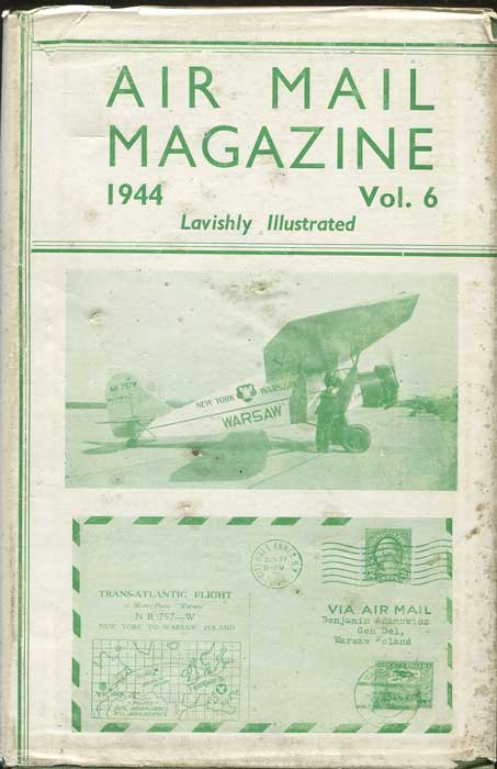 PHILLIPS A. Air Mail Magazine. - No 59 -70 issues for 1944