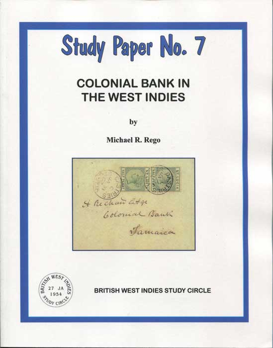 REGO Michael R. Colonial Bank in the West Indies