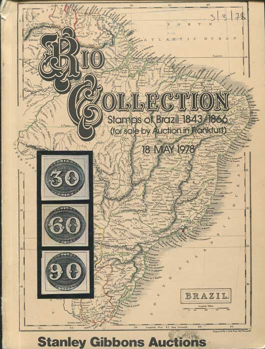1978 (18 May) Rio Collection stamps of Brazil 1843-1866